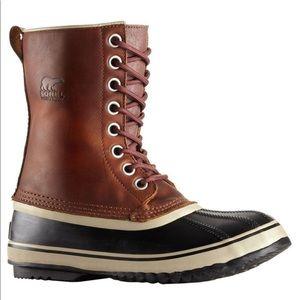 Sorel 1964 Waterproof Leather/Rubber Duck Boots
